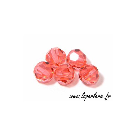 Ronde 6 mm PADPARADSCHA x10