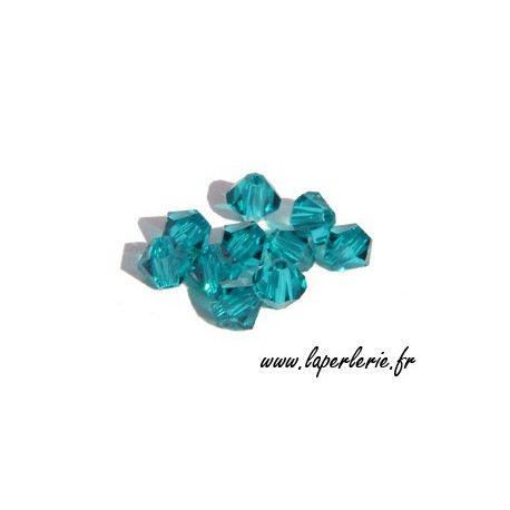 Toupies 5301 3mm BLUE ZIRCON x50