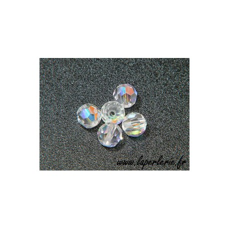 Ronde 5000 4mm CRYSTAL AB x20