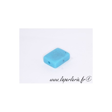 Rectangle 20X15mm TURQUOISE