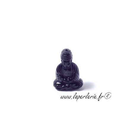 Bouddha 25X15mm JET x2