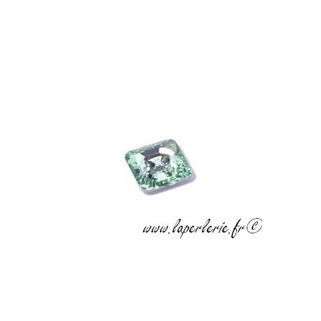 Bouton carré 3017 12mm CHRYSOLITE