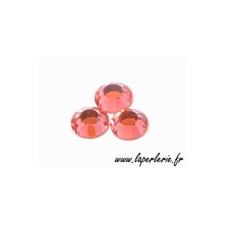 Stick-on strass 4mm PADPARADSCHA x30