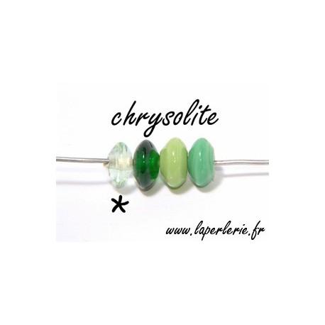Rondel 7/8 mm CHRYSOLITEx10