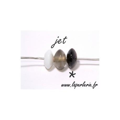 Rondelle 7/8 mm JET x10
