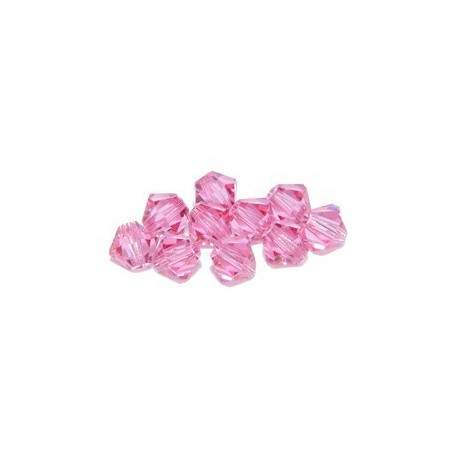Bicone 5301 6mm ROSE x20