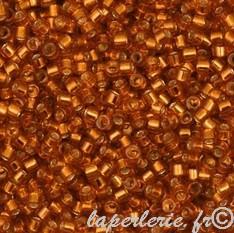 100 x Burnt Orange 12mm Shell Disc