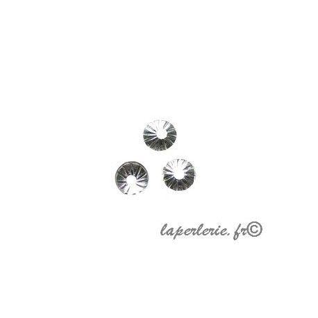 Calotte 4mm Argent 925 x10