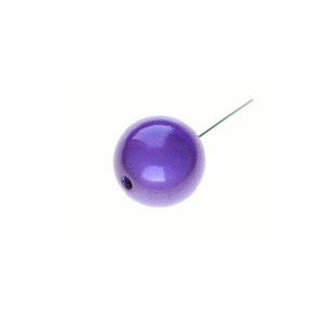 Perles magiques 8mm LILAS x20