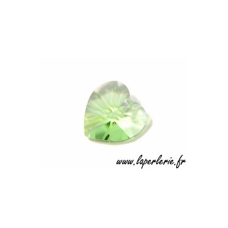 Heart 6202 10.3x10mm PERIDOT x6