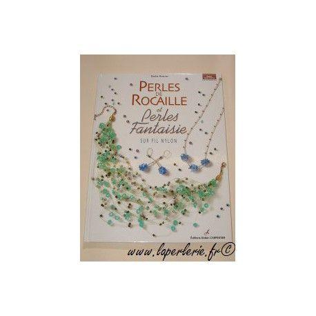Perles de rocaille sur fil nylon