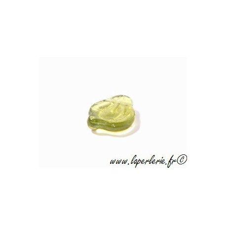 Leaf 12x15mm OLIVINE