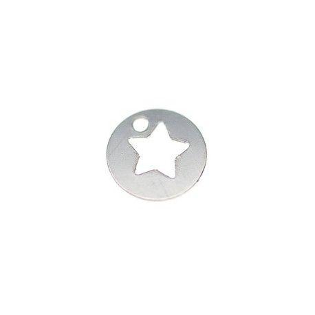 Sequin étoilée 7mm ARGENT 925