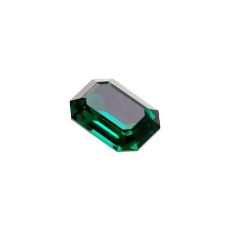 Rectangle cabochon 4610 13X18mm EMERALD