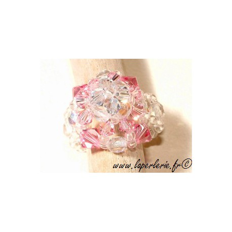 Kit Dentelle Ring ROSE/ SHADOW CRYSTAL