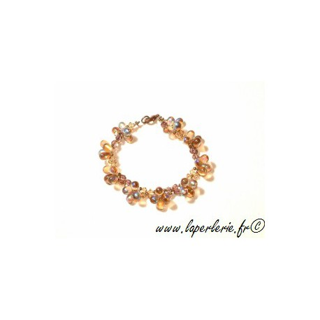 Kit Pulsera Puschkar LIGHT SMOKED TOPAZ AB