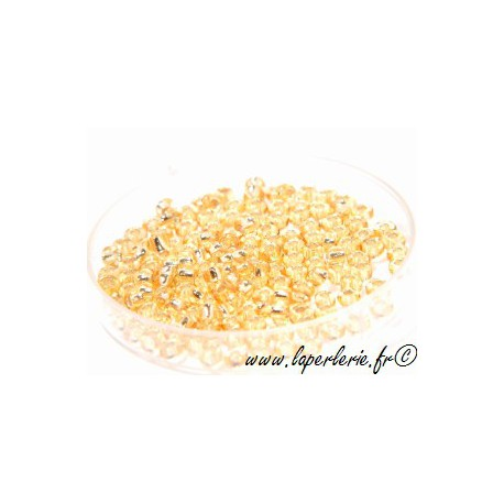 Rocallas DOREE ARGENTEE 2.2mm (400 cuentas)