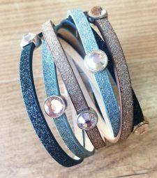 Bracelet paillettes