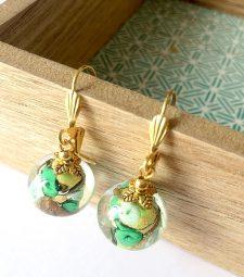 Boucles d'oreilles Perles Murano