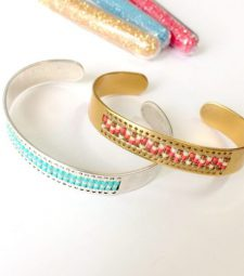 Bracelet tissage Miyuki