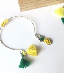 Bracelet Jaune Ananas