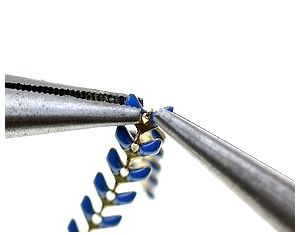Séparer la chaîne émaillée